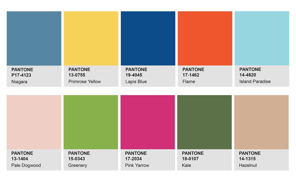 網頁設計公司,品牌顧問,推薦,2017,PANTONE,色彩趨勢,春季,時尚,報告