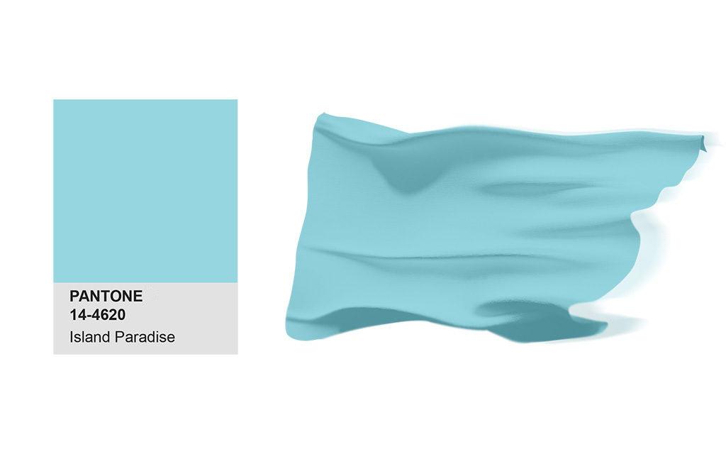 設計系,產品設計,3D列印,設計大學,工業設計,電腦設計,美術工藝,Island Paradise,2017,PANTONE,色彩,春季,時尚,報告,Fashion,Color,Report,Spring