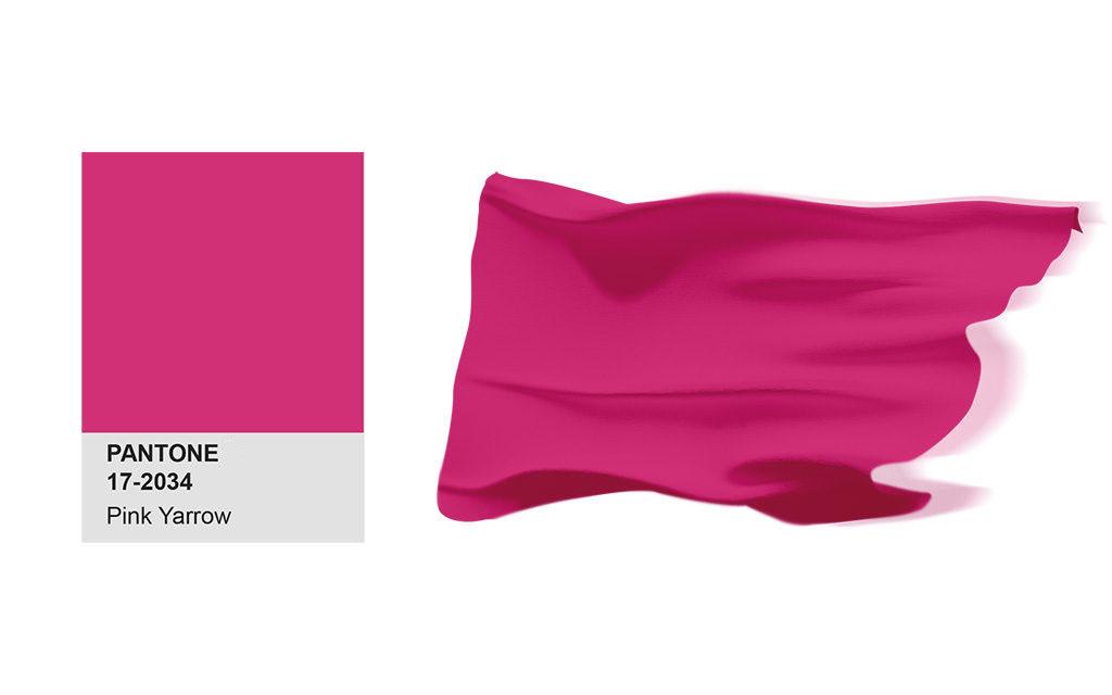 設計系,產品設計,3D列印,設計大學,工業設計,電腦設計,美術工藝,pink yarrow,2017,PANTONE,色彩,春季,時尚,報告,Fapink yarrow,shion,Color,Report,Spring