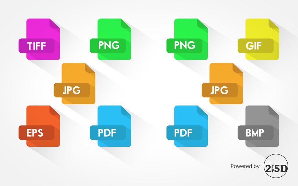 檔案,印刷,網頁設計,TIFF,EPS,JPG, PNG,PDF,GIF,BMP