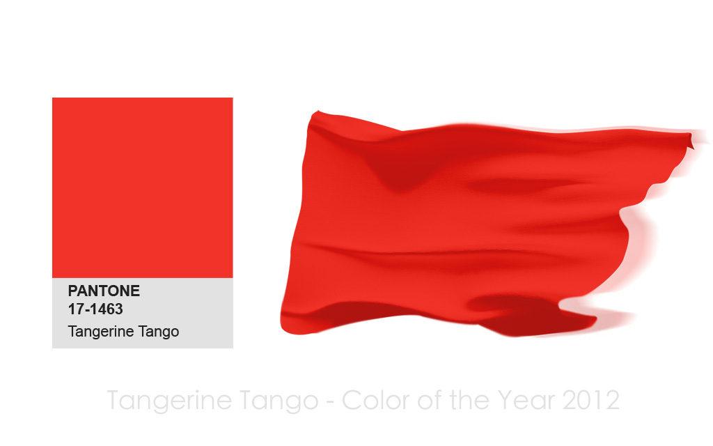 網頁設計公司,品牌顧問,推薦流行色,配色,Tangerine-Tango,2012,PANTONE,色彩