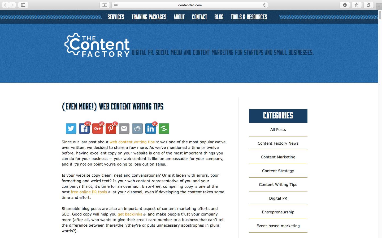 網路, 內容, 寫作, 精簡