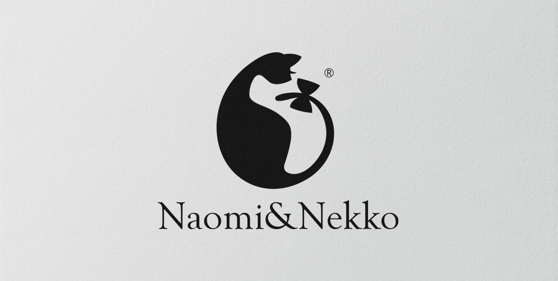 logo,商标,Naomi&nekko,小猫,网页设计公司,品牌设计,推荐